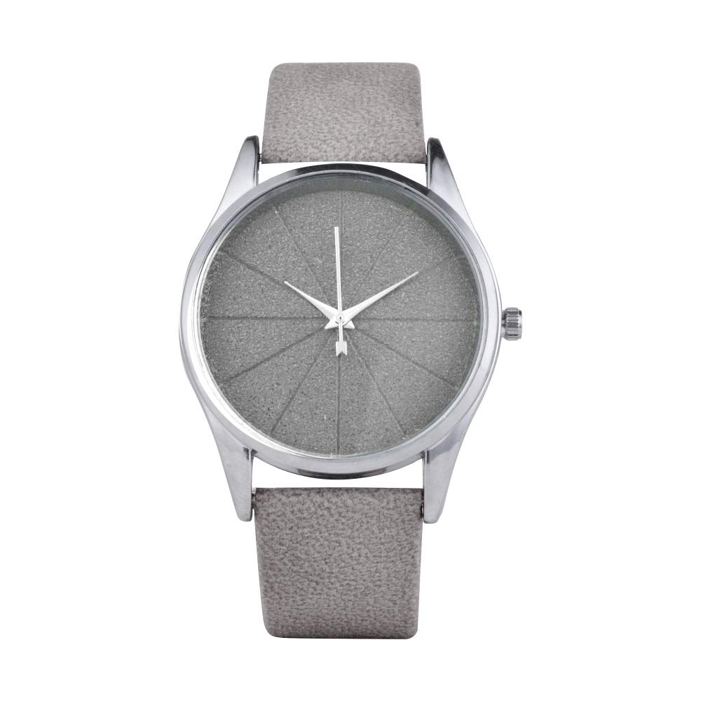 Loweryeah PU Leather Student Watch (Grey)