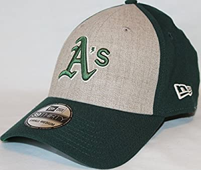 """Oakland Athletics New Era MLB 39THIRTY """"Team Fronted Classic"""" Fitted Hat"""