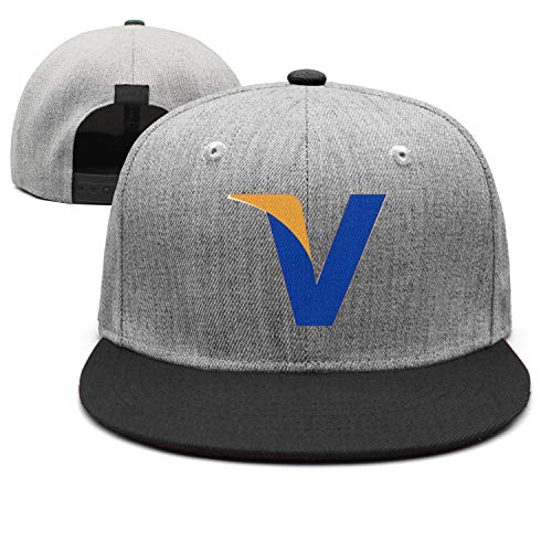 Mens and Womens Everywhere Visa Refresh Slogan and Logo Trucker Flat Baseball HatMesh Stylish