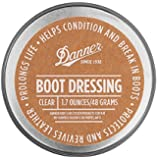 DANNER BOOT DRESSING (Protects,Revives,Prolongs,Conditions & Breaks in Boots) 1.7oz/48Grams (CLEAR)
