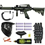 Tippmann Cronus Tactical Paintball Gun 3Skull Remote Mega Set - Olive