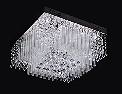 Saint Mossi® Modern Contemporary Luxury Crystal Droplet Ceiling Flushmount Lights