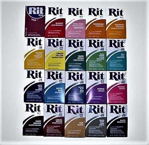 Rit Dye Powder All Purpose Fabric Color Laundry Clothing Jeans Sunshine/Orange