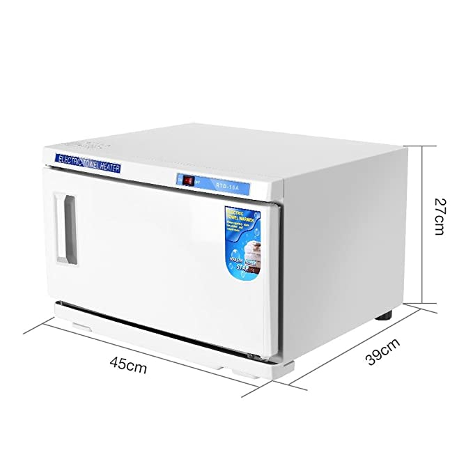 Calentador de Toallas Esterilizador Gabinete 2 en 1 Gabinete de Esterilización UV Caliente - uso Caja de Desinfección para Centros Estéticos: Amazon.es: ...