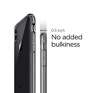 Spigen Ultra Hybrid Designed for Apple iPhone Xs Case (2018) / Designed for Apple iPhone X Case (2017) - Space Crystal (Color: Space Crystal)