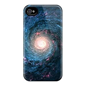 [gxg12204wFoF]premium Phone Cases For Iphone 4/4s/ Spiral Space Cases Covers
