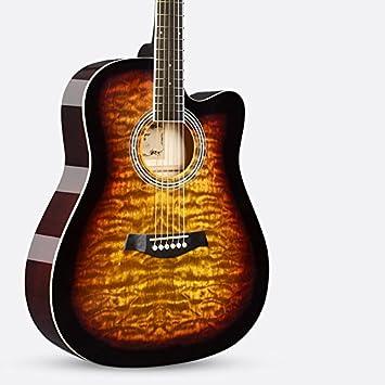 Un instrumento de guitarra guitarra electrica / madera,F: Amazon.es: Instrumentos musicales