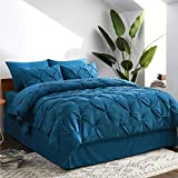 Bedsure Teal Twin Comforter Set - Bed in A Bag 6
