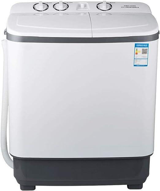 Lavadora 8 Kg De Gran Capacidad De Doble Barril Pequeña Máquina De ...