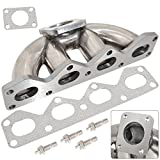 Replacement Stainless Steel Top Mounted Td05 Turbo Swap Exhaust Manifold For Mazda Miata 1.6L