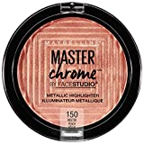 Best Highlighting Powders - Maybelline New York Facestudio Master Chrome Metallic Highlighter Review