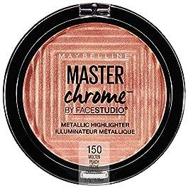 Maybelline Master Chrome Metallic Highlighter Makeup, Molten Peach, 0.19 Ounce