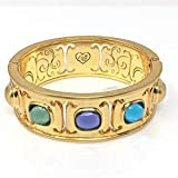 Brighton Collectibles Versailles Amalia Bracelet Hinge Bangle Crystal