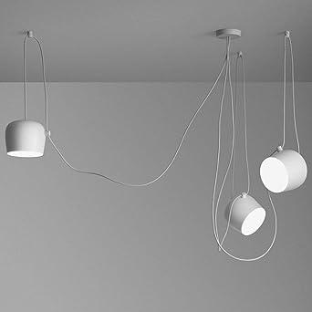 Schon Ceiling Light Moderne Mehrere Verstellbar DIY Kronleuchter Basteln Kreative  Spinne Trommel Licht Anhänger Höhenverstellbar Loft Multihead
