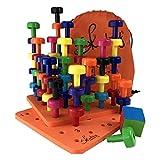 Skoolzy Montessori Peg Board Toddler Occupational