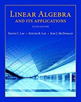 Linear Algebra and Its Applications, 5th Edition Front Cover