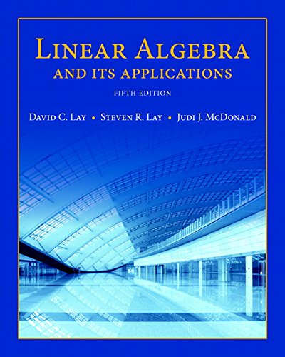 Linear Algebra and Its Applications (5th Edition)