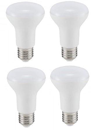 V-TAC - Bombillas reflectoras LED R63 (4 unidades, E27, rosca Edison