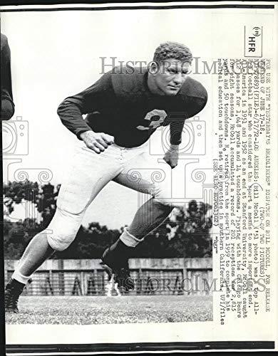 (1972 Press Photo All American Pro Football Star, Bill McColl, Los Angeles - Historic Images)