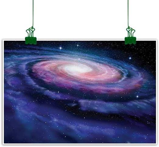 SPIRAL GALAXY DEEP SPACE STARS NEBULA Picture Canvas art Prints