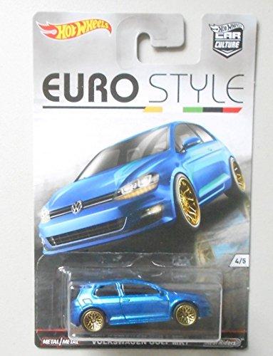 Golfs Blue Volkswagen Golf (BLUE VOLKSWAGEN VW GOLF MK7 HOT WHEELS CAR CULTURE EURO STYLE DIECAST)