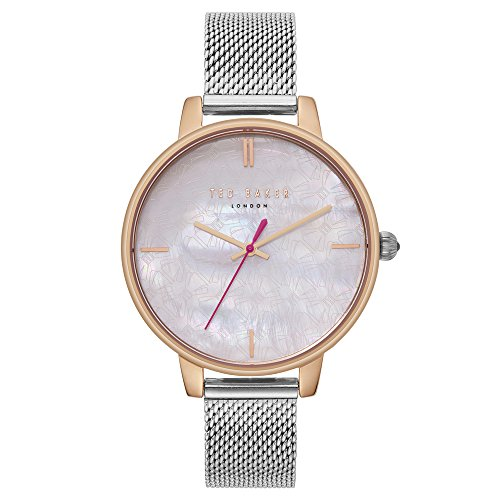 Ted Baker Female ' 'Kate' Quartz Watch with Silver Strap, Stainless Steel, 14 (Model: TE50272008)