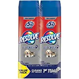 Resolve Dual Pack Pet High Traffic Carpet Foam, 44 oz (2 Cans x 22 oz), Cleans Freshens Softens & Removes Stains