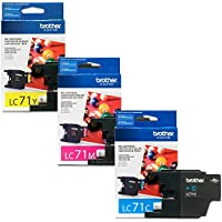 Brother LC-71 Standard Yield Ink Cartridge Set Colors Only (CMY)