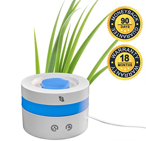 Essential Oil Aroma Diffuser, 100ml Ultrasonic Aromatherapy Travel Humidifier - 7 Color LED Lights, Adjustable Mist Mode, Waterless Auto Shut-Off, 18 Mth Warranty