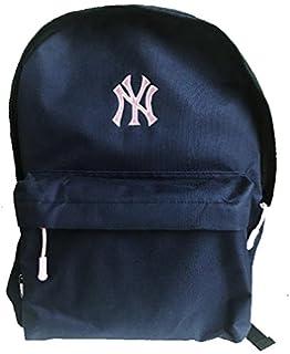 0bad879eb3 MLB NY New York Yankees Backpack - Black  Amazon.co.uk  Sports ...