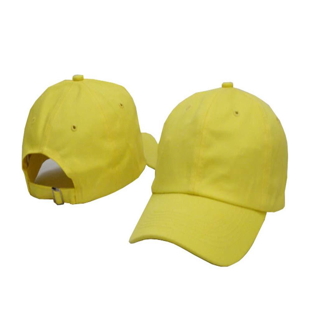Sombrero de Golf en Blanco de algodón de Color sólido 12 Ajustable ...