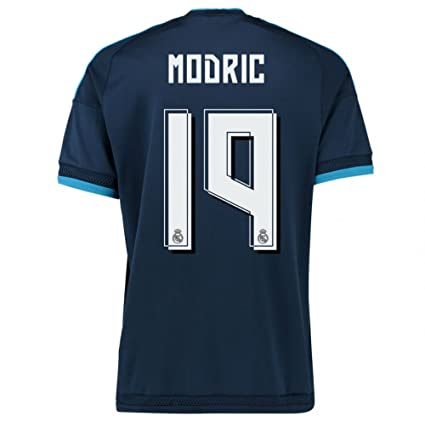966faae29 Image Unavailable. Image not available for. Color  2015-2016 Real Madrid  Third Football Soccer T-Shirt Jersey (Luka Modric 19