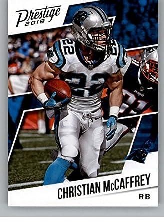 2018 Prestige NFL  179 Christian McCaffrey Carolina Panthers Panini  Football Card d3282bbc1
