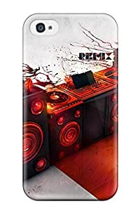 Premium Artistic Heavy-duty Protection Case For Iphone 4/4s