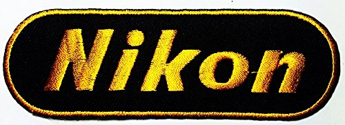 Nikon Dslr Digital Camera Photographer logo patch Jacket T-shirt Sew Iron on Patch Badge Embroidery