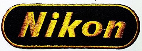 Nikon Dslr Digital Camera Photographer logo patch Jacket T-shirt Sew Iron on Patch Badge Embroidery