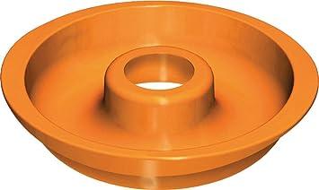 ALTRI MARCHI Dolce - Molde de silicona para bizcocho (con orificio, 23 cm)