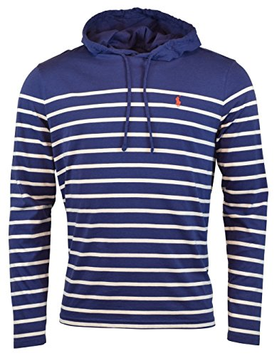 Polo Ralph Lauren Men's Jersey Knit Hoodie Long Sleeve Tee