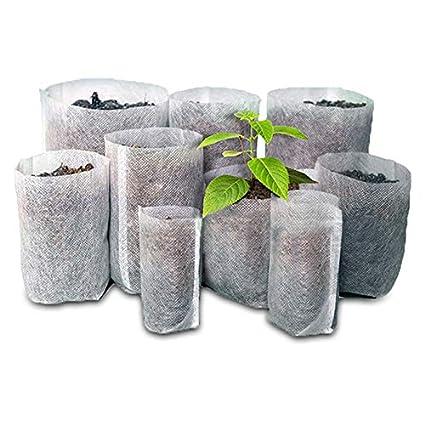 Amazon.com: SKYCOOOOL - 500 bolsas biodegradables no tejidas ...