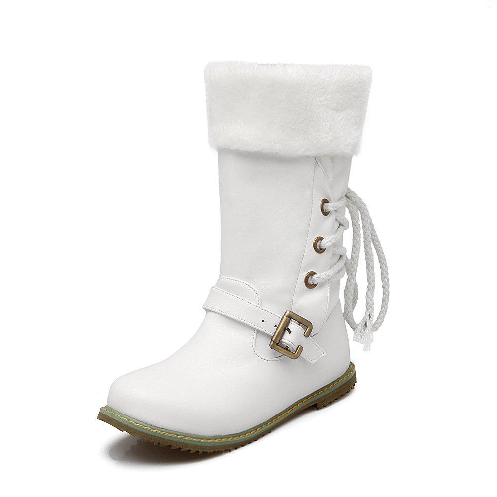 DYF Blanc Chaussures EU 52 Plat Fond à Chaude Couleur de