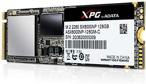 XPG SX8000 PCIe Gen3x4 SSD 128GB PCI Express 3.0 - Disco Duro ...