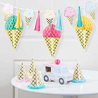 Ice Cream Party Decorations Kit: Toys & Games