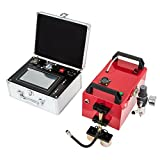 Happybuy Portable Dot Peen Marking Machine 5.9 x 1.97 Inch Marking Area 220V Pneumatic Dot Peen Marking Machine with Touch Screen (220v)