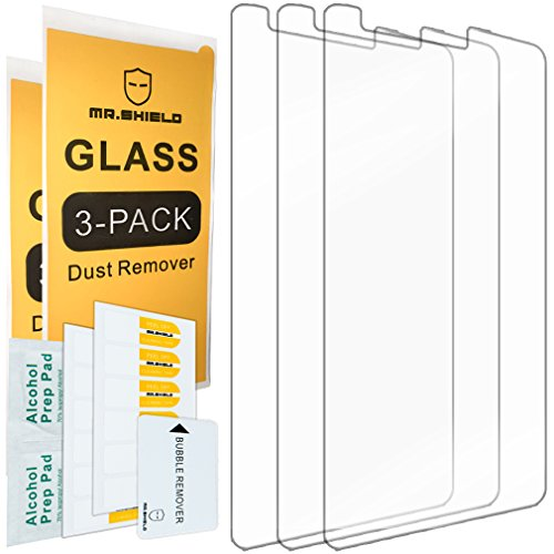 [3-PACK]-Mr Shield For LG G3 Vigor / G3 Mini / G3 Beat [Tempered Glass] Screen Protector with Lifetime Replacement Warranty