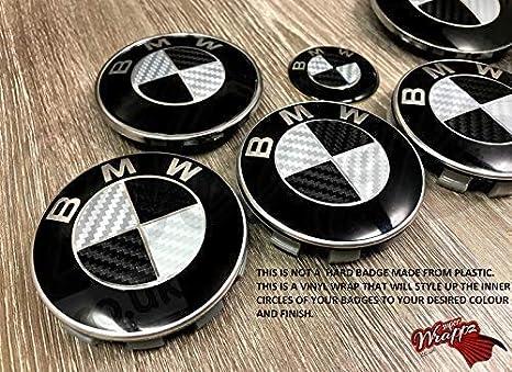 E93 3er F02 7er E92 3er Emblem Aufkleber Ecken für BMW E91 3er F01 7er