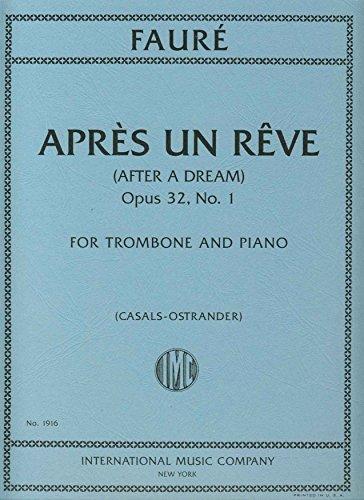 FAURE - Apres un Reve para Trombon y Piano (Casals/Ostrander)