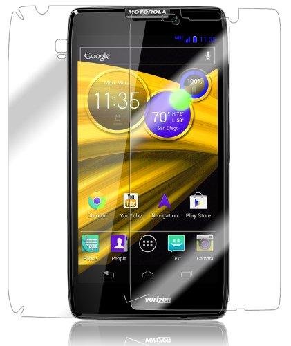 (Motorola Droid RAZR MAXX HD Screen Protector + Full Body, Skinomi TechSkin Full Coverage Skin + Screen Protector for Motorola Droid RAZR MAXX HD Front & Back Clear HD Film)