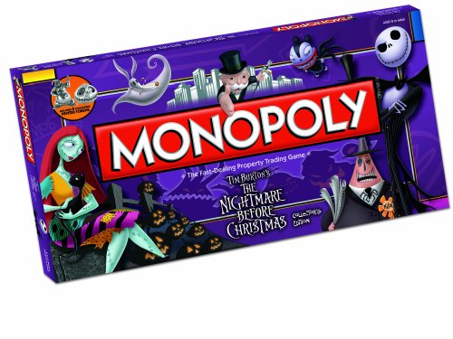 The Nightmare Before Christmas Monopoly Game