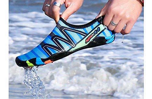 Shoes Quick Blue Aqua Barefoot Womens Cloudless Water Socks Mens Dry qTHSwAt
