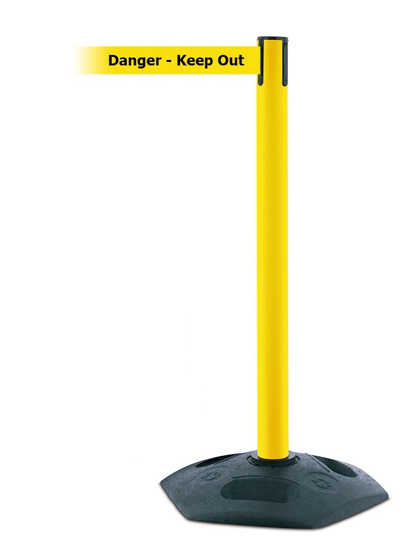 Standard 7.5 No Custom Yellow Webbing//BlackCaution Do Not Enter Standard Belt End Standard 7.5/' Tensator No Custom Yellow Webbing//BlackCaution Do Not Enter Standard Belt End Tensabarrier 875-35-STD-NO-YAX-C Popular Post with Yellow Tube